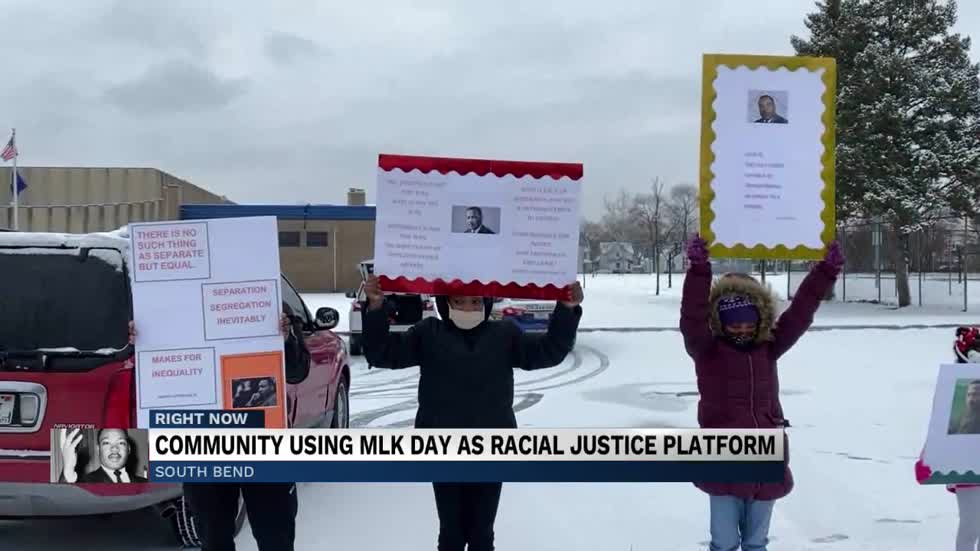 Community using MLK day as racial injustice platform